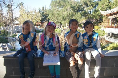 16 Jaslyn Lee, Mackenna Ryan, Bernice Cheng and Kristine Shew