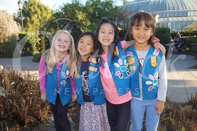 18 Emily McCroskey, Maya Winarko, Lila Wang and Aria Wang