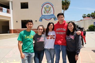 4 Tyler Tse, Olivia Cameron, Jacqueline Lin, Eric Fu and Morgan Wong