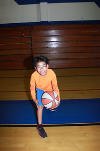 Shooting Hoops at Basketball Academy