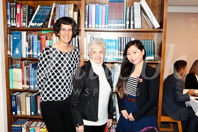 Kim Siegmund, Sandra Troup and Elsa Chang