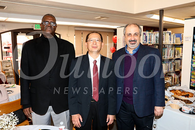 Dr  Mamadou Diallo, Into Champon and Mehdi Asghari