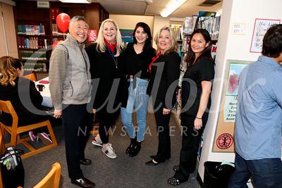 Isaac Hung, Nicole Brasseri, Ariana Brasseri, Gretchen Shepherd Romey and Connie Cheng Pham