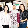 Grace Cheng, Mahjuba Mansoory and Angela Sze