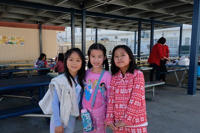 23 Evelyn Ho, Juliet Lin and Kara Mak