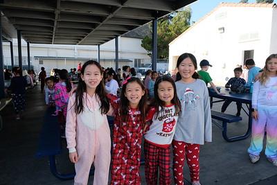 8 Lila Wang, Maya Winarko, Avery Segimoto and Claire Shing