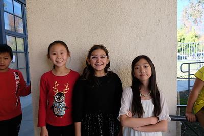 3 Summer Yang, Chloe Khalili and Ava Chang