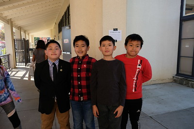 4 Aiden Yen, William Dai, Victor Hallett and Orion Tsai