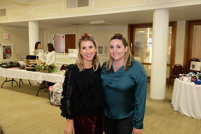 Boutique chair Francesca Gill and Joelle Grossi