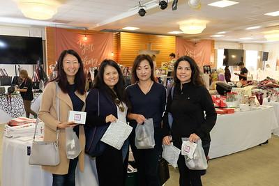 Lisa Nguyen, Ellen Tsang, Angela Sze and Michiko Lee