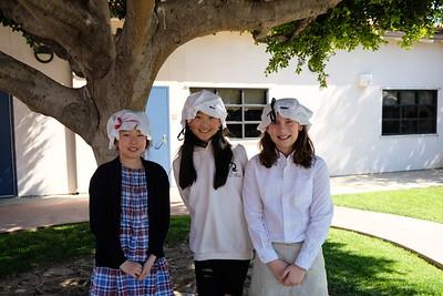 8 Elyse Sim, Maggie Yu and Madeline Jiggins