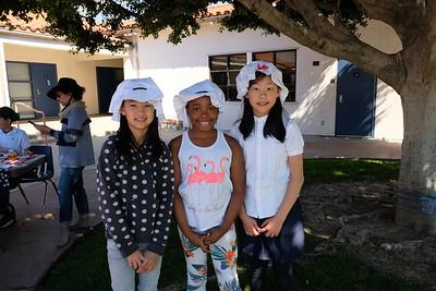 3 Vanessa Lee, Sariah Muhammad and Chloe Jiang