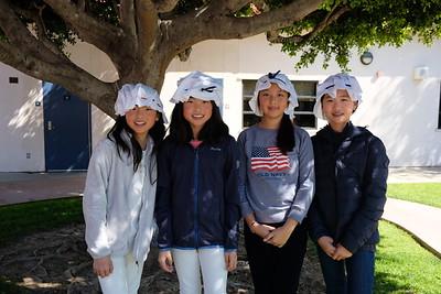 9 Kelly and Allison Zhang, Annie Li and Linda Zhang