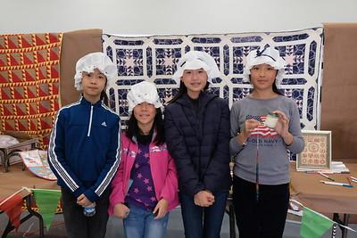 14 Shelly Shen, Joanna Liu, Linda Zhang and Annie Li