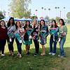 Heart of Gold Award recipients Lulu Lopez, Zeina Daoud, Krista Diaz, Celina Duffy, Kate Sinclair, Danica Hughes, Crystal Wu and Jennifer Kang