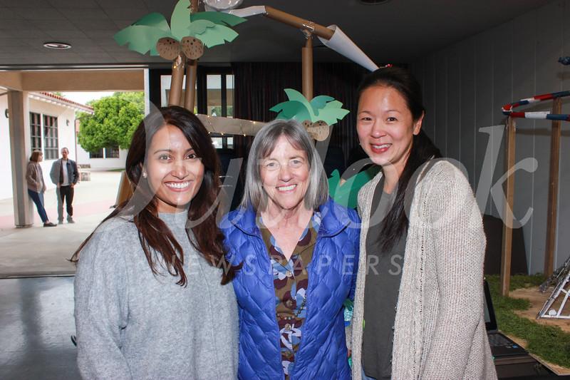 Zarana Patel, Colleen Shields and Jennifer Kang