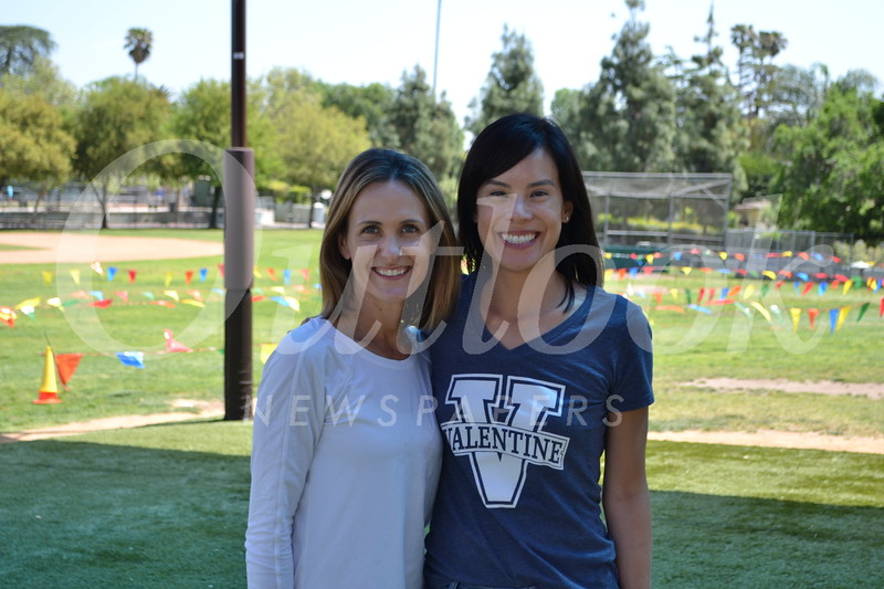 Event co-chairs Renita Lin and Kelley Carpiac