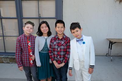 15 Andrew Cali, Emiko Lee, Terry Zhang and Victor Hallett