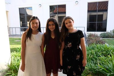 1 Akemi Fu, Carla George and Paige Franke