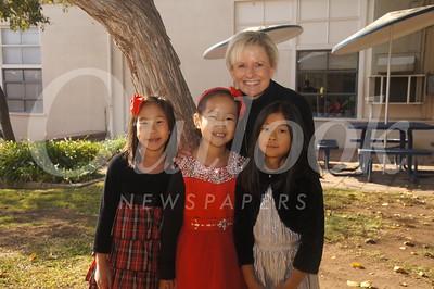 20 Genevieve Phan, Monica Wong, Hannah Yung and Mrs  McGowan