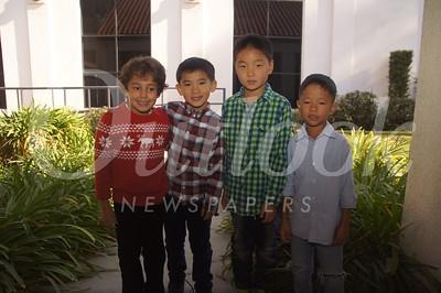 16 Shwan Moore, Kellan Paek, Caleb Lee and Eric Hong