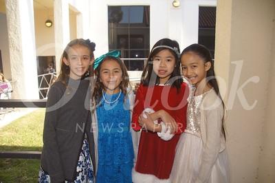 8 Alexandra Hughes, Anastasia Arrieta, Bridget Duffy and Ashlyn Phung