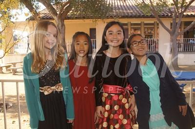 4 Caroline Boles, Mia Lin, Chloe Linden and Elise Fong