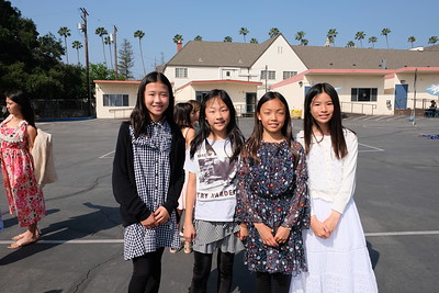 15 Linda Zhang, Chloe Jiang, Erin Hsu and Yolanda Xiao