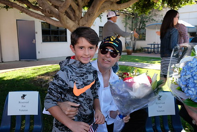 24 Veteran Ron Zubia with grandson Justin Zubia