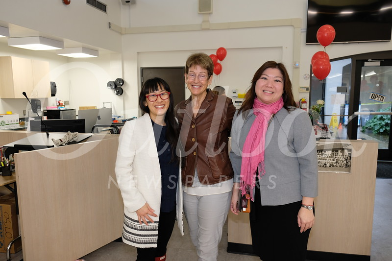 Dr. Katherine Loi, Joni Abe and Ginny Hsiao