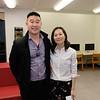 Ryan Lee and Caroline Fong