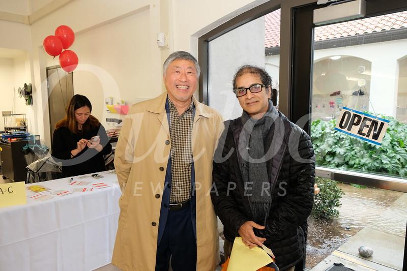 Isaac Hung and Vinayah Bharne