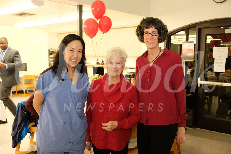 Dr. Juliann Kwak, Sandra Troup and Kim Siegmund
