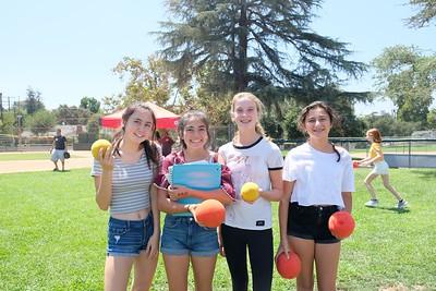 6 Megan Linden, Bethany Ang, Ava Giardina and Ellie Goldberg