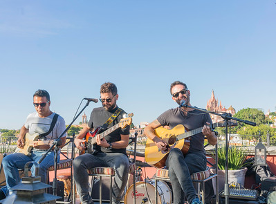 """""""Rabbits perform at the Luna Cafe  in San Miguel"""