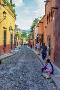 San Miguel street scene