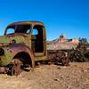 Uranium mining vehicle