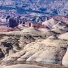 Badlands above Last Chance Wash, Mussentuchit Badlands