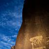 Fertility petroglyphs, possibly transitional.