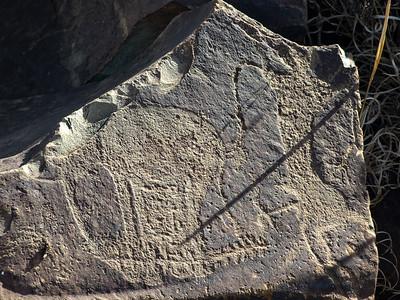 San Bushman Rock Art Engravings
