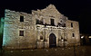 Mission Alamo - Facade at Night
