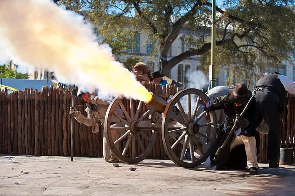 Alamo Re-enactment