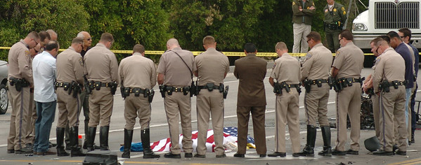 CHP officer killed during a high speed chase in Redlands