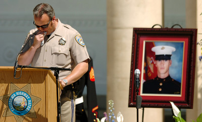 Fallen CHP motor officer remembered