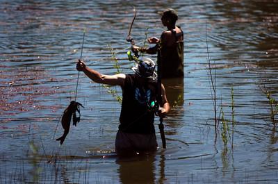 Fishin for 50K at Big Bear Lake
