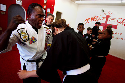 Kenpo Karate at Soldiers of the Cross Ministry