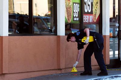 Shooting at San Bernardino Del Taco