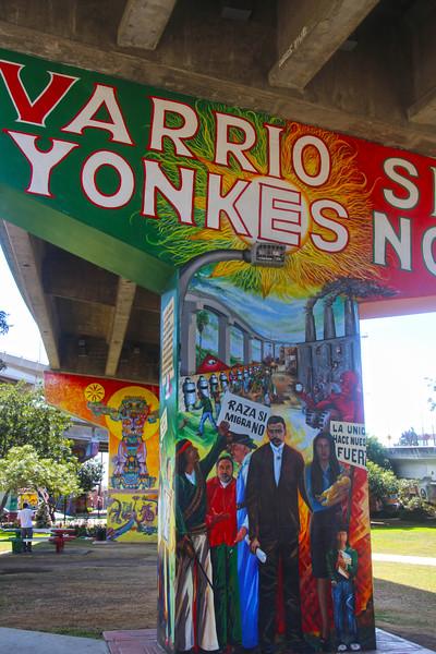 Barrio Logan San Diego, Protest Mural