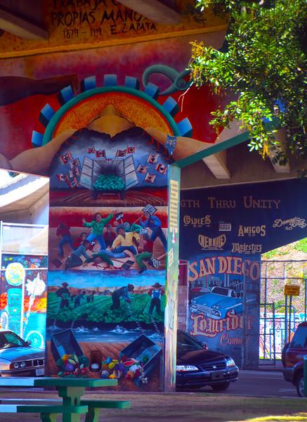 Barrio Logan San Diego, Farming Mural