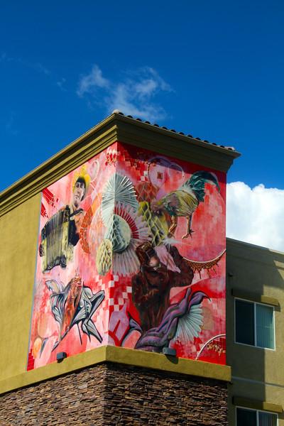 Barrio Logan San Diego, Apartment Mural